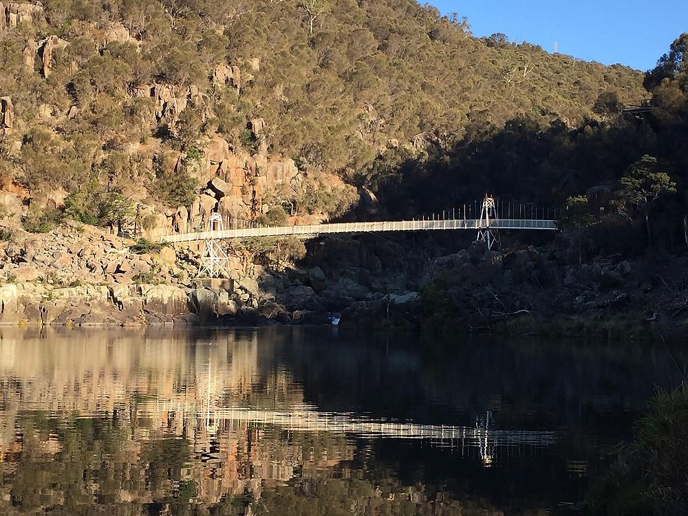 мост Alexandra Supension Bridge — Тасмания 2018 — Блог о путешествиях Сергея Чеботова