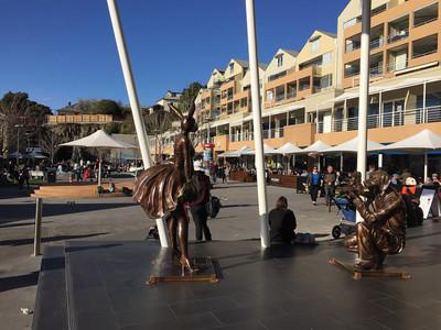 Хобарт, Тасания, площадь Саломанка — Тасмания 2017 — Блог о путешествиях Сергея Чеботова