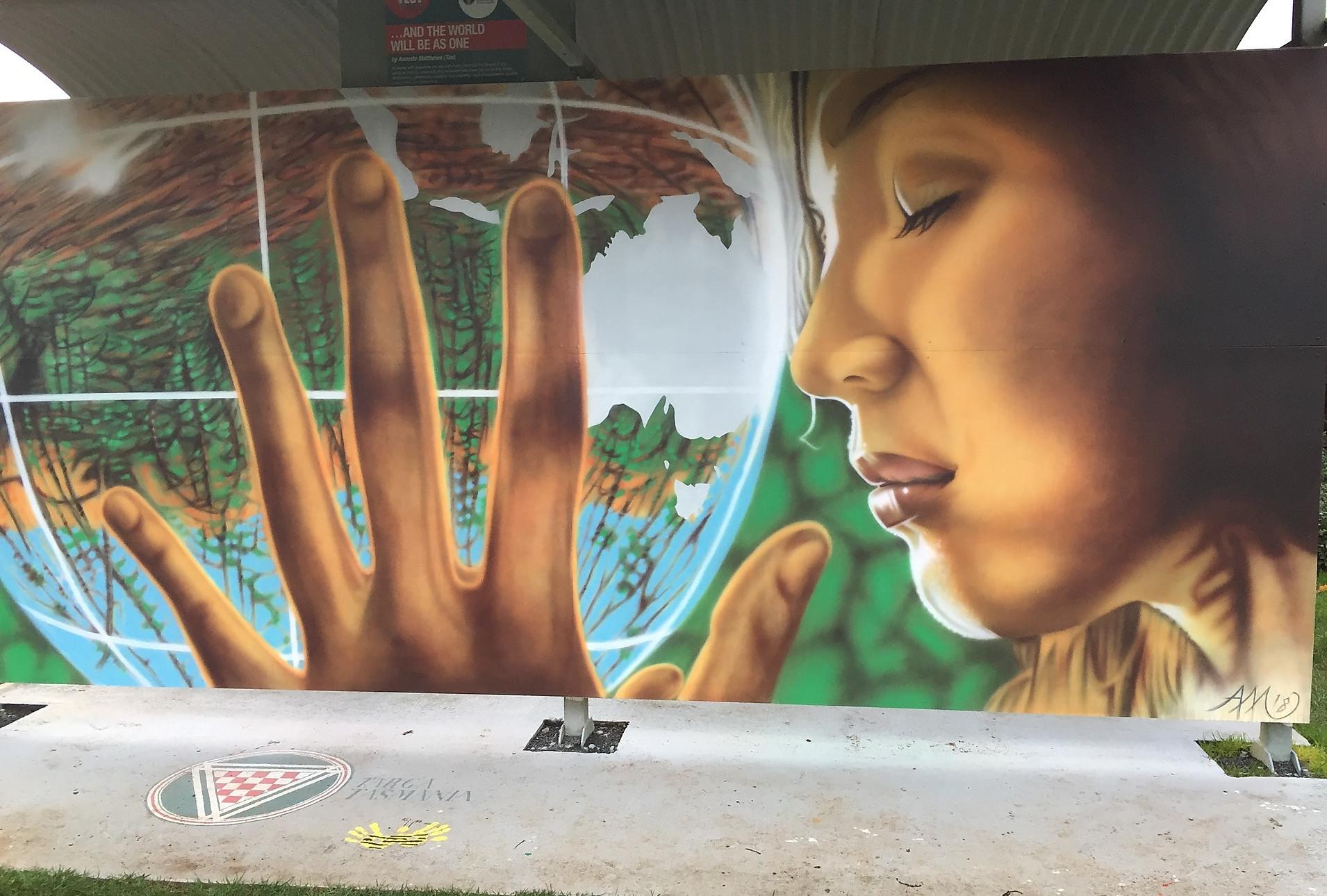 Фестиваль-конкурс картин и фресок, Шеффилд — Тасмания 2018 — Блог о путешествиях Сергея Чеботова