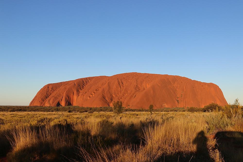 Улуру на закате — Улуру — Красный центр Австралии — Блог о путешествиях Сергея Чеботова