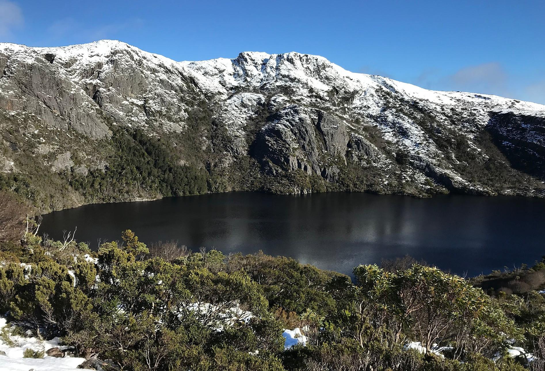 Озеро - Кратер лейк — Тасмания 2018 — Блог о путешествиях Сергея Чеботова