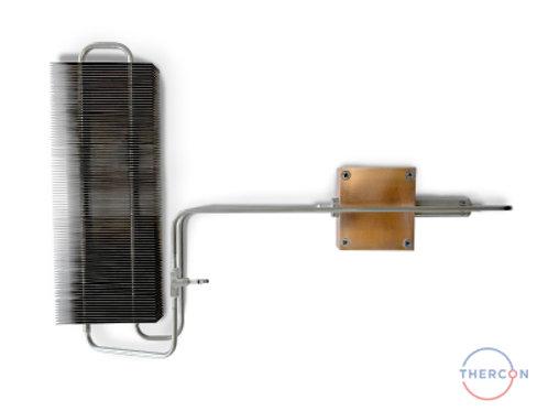 Кулер с алюминиевым наборным радиатором