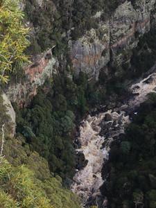 Левен каньон, Панорама с Cruickshanks Lookout — Тасмания 2018 — Блог о путешествиях Сергея Чеботова