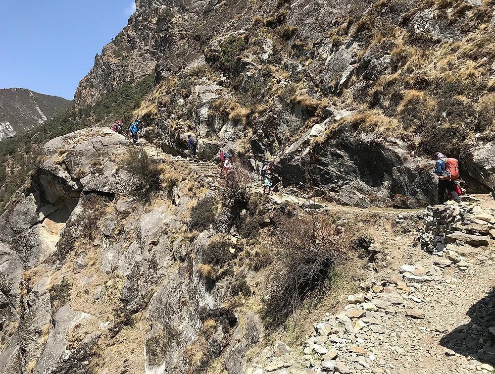 Тропа от Монг до Намчи Базара | skitour.club | Блог Сергея Чеботова