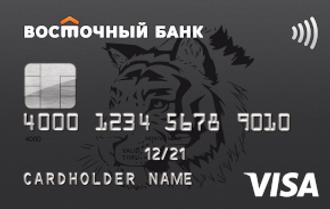 Дебетовая карта №1 Ultra — Восточный Банк — Visa