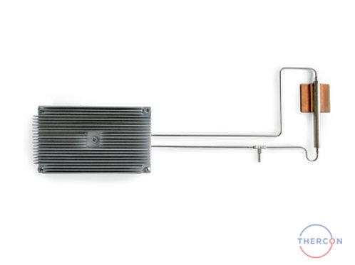 Кулер с алюминиевым экструдированым радиатором