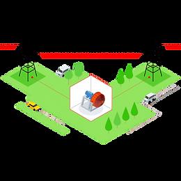 Применение Накопителя кинетической энергии KEST — Электрические сети