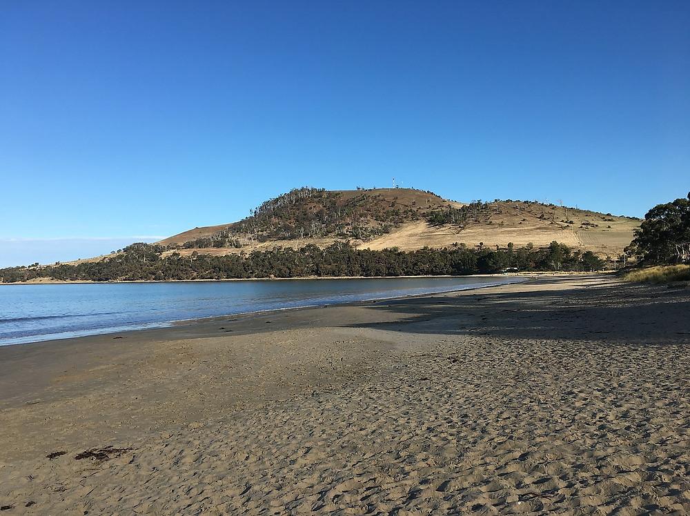 Пляж seven mile— Тасмания 2017 — Блог о путешествиях Сергея Чеботова