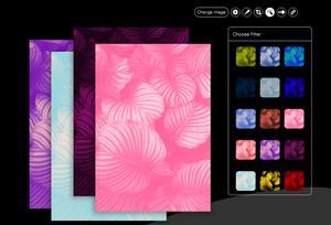 40 новых фильтров для обработки изображений при создании сайта на Wix