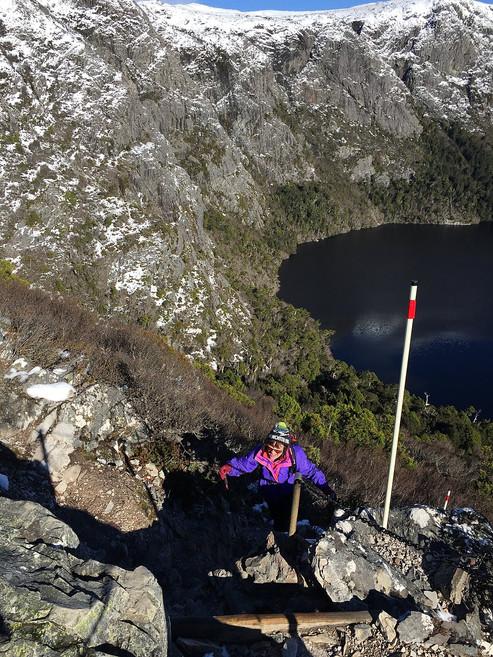 Выход на смотровую площадку Marions Lookout — Тасмания 2018 — Блог о путешествиях Сергея Чеботова