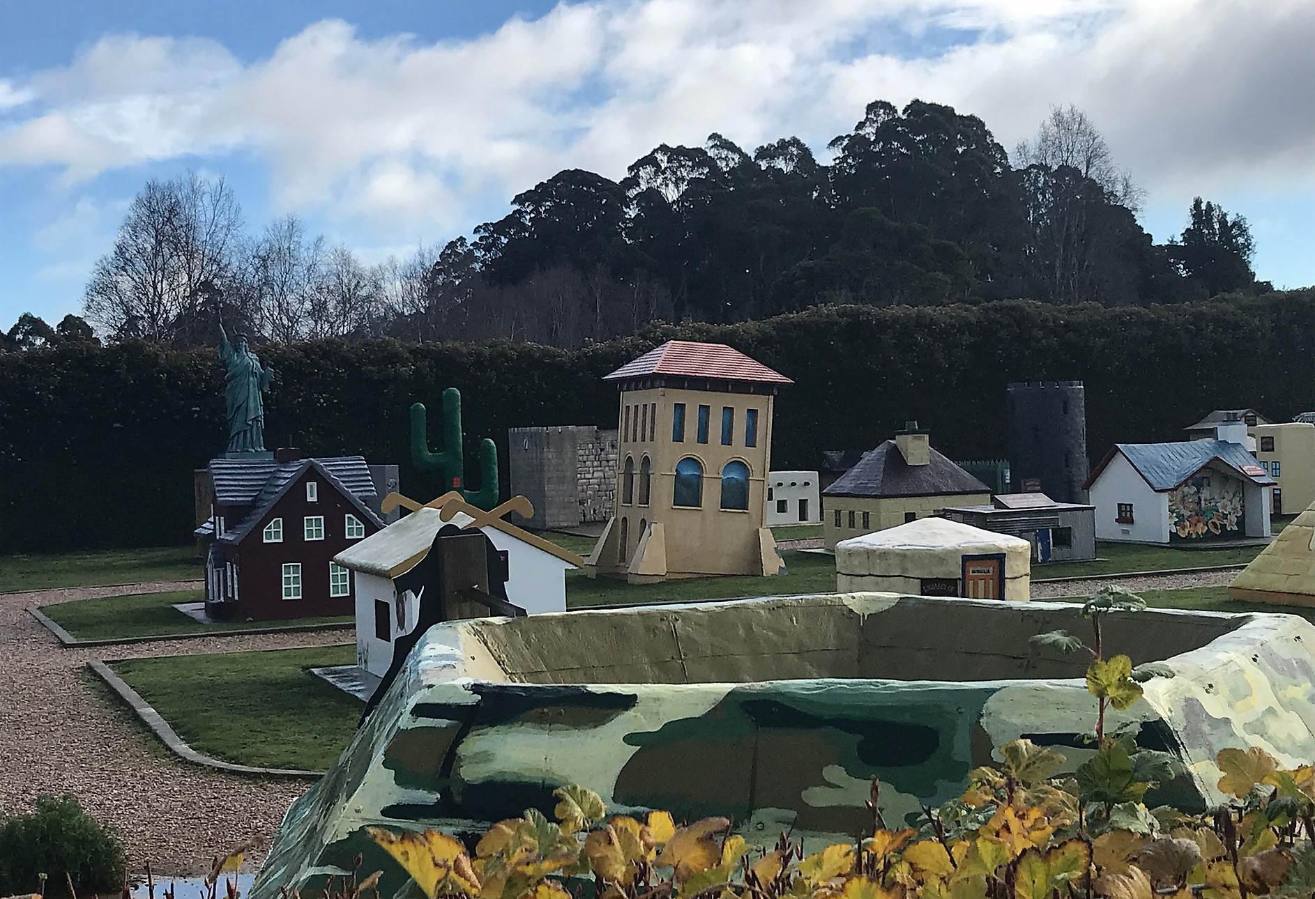 village of lower crackpot — Тасмания 2018 — Блог о путешествиях Сергея Чеботова