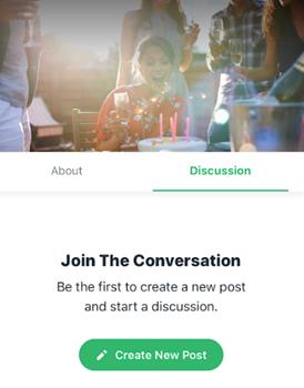 Обсуждение событий Wix Events в Wix Mobile App