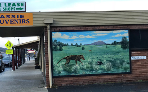 Тасмансий тигр, Шеффилд — Тасмания 2018 — Блог о путешествиях Сергея Чеботова
