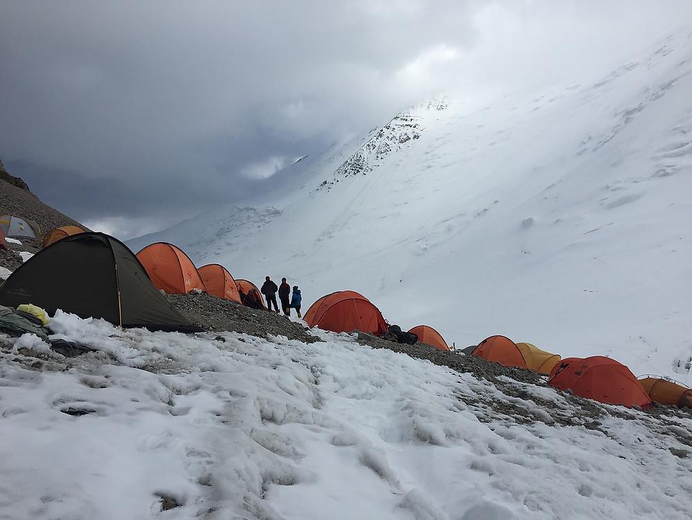 Лагерь 2 | skitour.club | Блог Сергея Чеботова