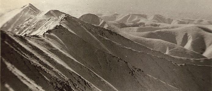 Траверс хребта — Туристический поход в район хребта Дуссе-Алинь 1986 год — Блог Сергея Чеботова