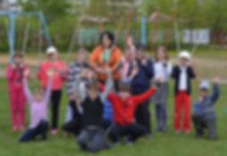 Скандинавская ходьба в детской и подрост
