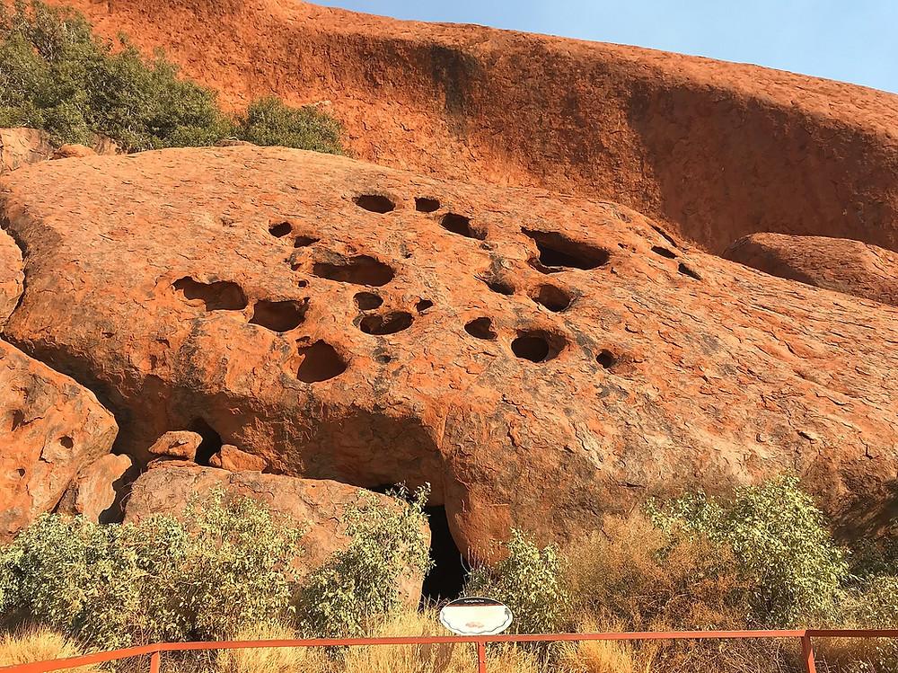 Пещера Minyma Itjaritjari — Улуру — Красный центр Австралии — Блог о путешествиях Сергея Чеботова