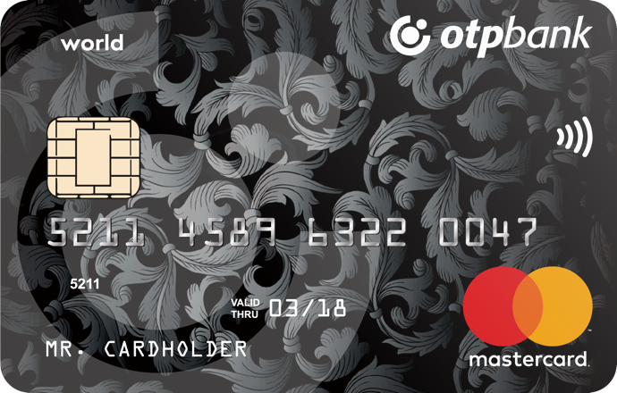 Дебетовая карта Максимум+ — ОТП Банк — MasterCard World