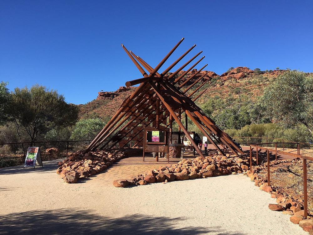 Вход в парк Watarrka National Park — Улуру — Красный центр Австралии — Блог о путешествиях Сергея Чеботова