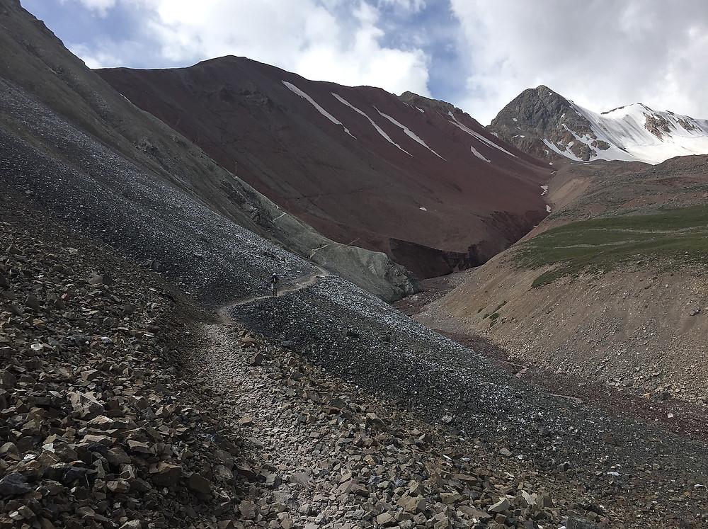 Тропа к Лагерю 1 от луковой поляны | skitour.club | Блог Сергея Чеботова