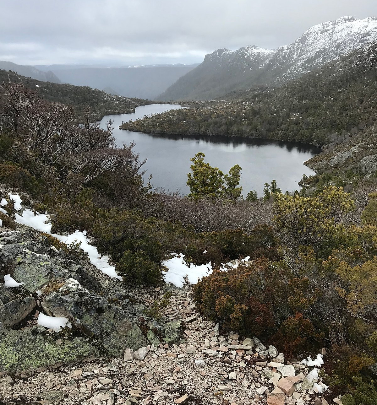 Dove Lake Circuit — Тасмания 2018 — Блог о путешествиях Сергея Чеботова