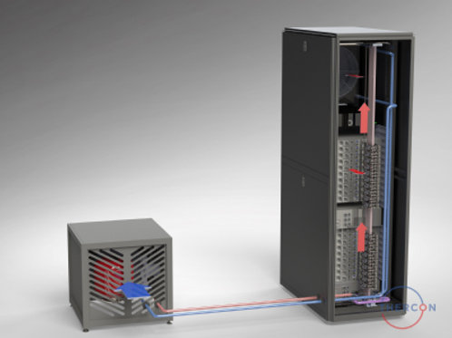 micro data-center with drycooler