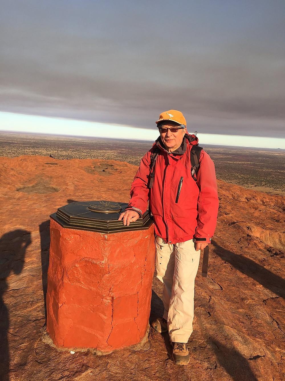 Вершина Улуру — Улуру — Красный центр Австралии — Блог о путешествиях Сергея Чеботова