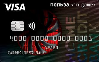 Дебетовая карта InGame — Хоум Кредит Банк — Visa