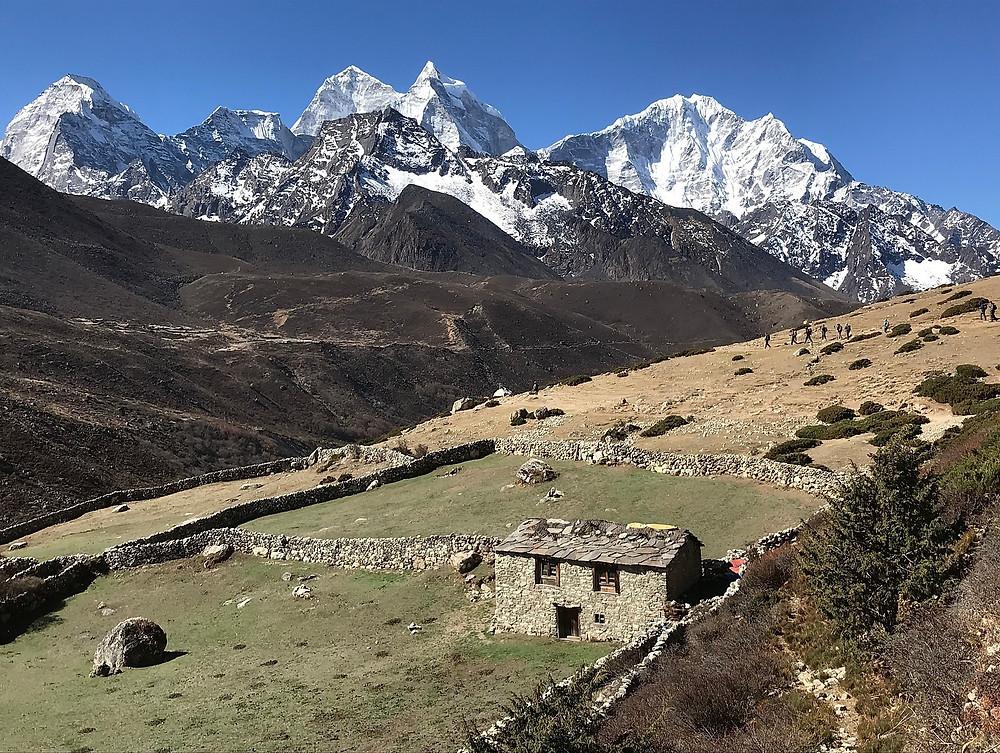 Традиционный непальский дом