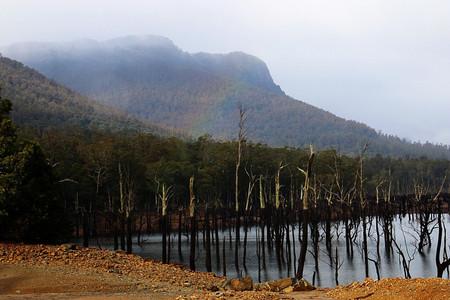Озеро Роваллан — Тасмания 2018 — Блог о путешествиях Сергея Чеботова
