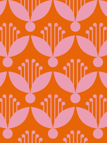 Aufgehende Blumen