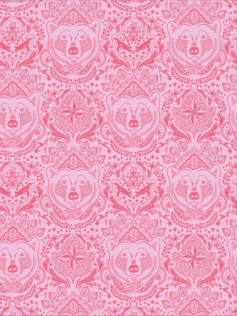 Eisbär pink