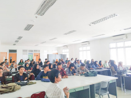 ARLAN GOES TO CAMPUS (ITERA) : WHY LANDSCAPE ARCHITECTURE?
