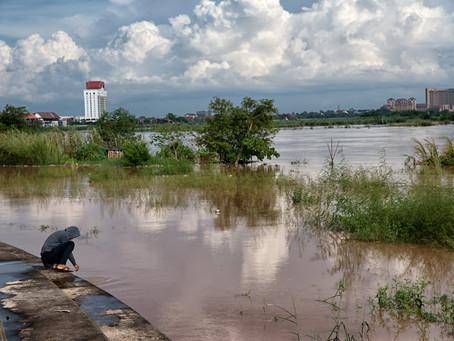 Inundação no Laos