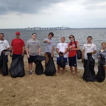 Kent Island Beach Cleanup