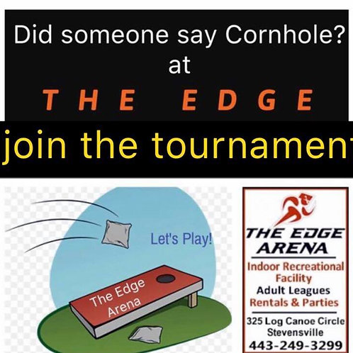 Cornhole Tournament June 24th 12pm-4pm (Individual)