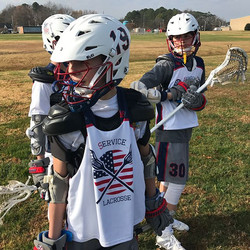 The 2022's put on their big boy pants today and traveled with 13 to play a pair of scrimmages to vic