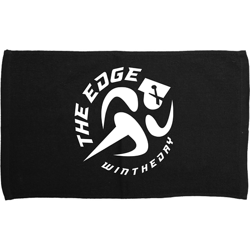Black Logo Towel