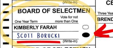 The GIP Announces Support For Danville Selectman Write-In Candidate Scott Borucki