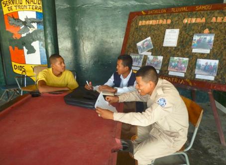 Defensora del Pueblo (Ombudsman) visits La Palma jail 2013 slamming them over their human rights....