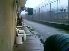 Water is a human right, so why are prisoners capturing rainwater? Answer: Building 6, La Joya.....
