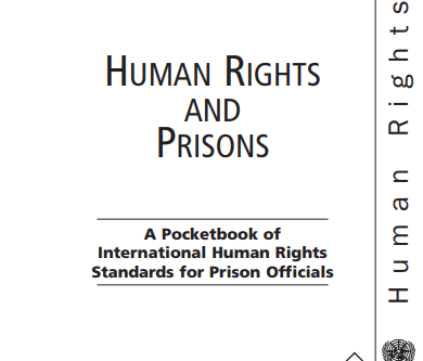 Prisoners entitled to this book, explaining their rights in prison.