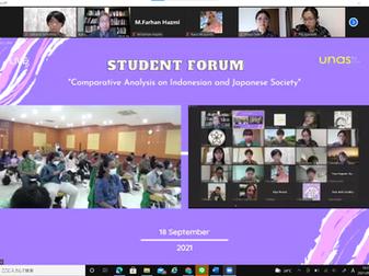 加藤ゼミがナショナル大学と学生フォーラムを開催