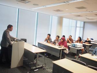 加藤教授国際プログラムで講演しました