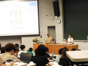 デヴィ夫人が「東南アジア社会文化論」で特別講義を行いました