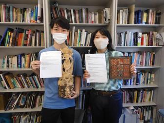 高橋未希さん・田中彪雅君が日本代表でインドネシア文化研修に参加