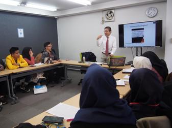 加藤教授が国際プログラムで講演しました