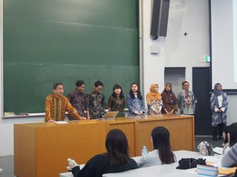 加藤ゼミの学生がマレー・インドネシア語説明会に参加しました