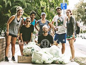 Bondi Locals Take Litter Problem Into Own Hands (Literally)