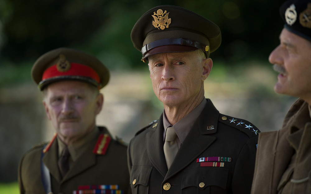 John Slattery as Eisenhower © Graeme Hunter Pictures